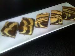 Kek Marble Coklat $15