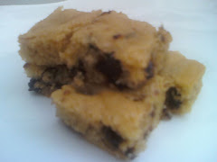 Peanut Butter Choc Blondies $17