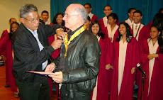 Orden Ezequiel Zamora recibió Orfeón Universitario
