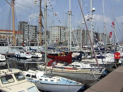 Ostend harbor