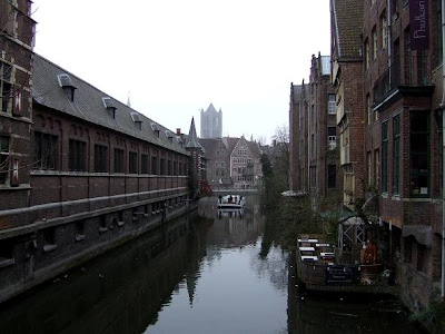 view of the canals