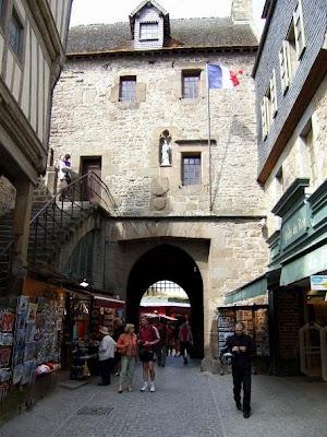 centre of Mont Saint-Michel