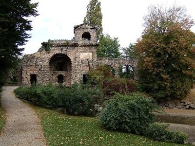 ruins in Schwetzingen