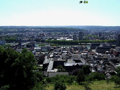 View of Liège