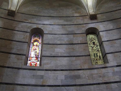 interior of Baptistery