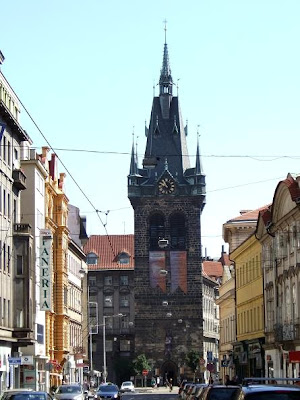 Jindrisska Tower in Prague