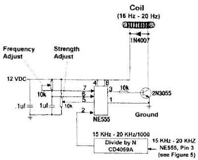 RUN YOUR CAR ON WATER: Generator Coil Circuit Schematic
