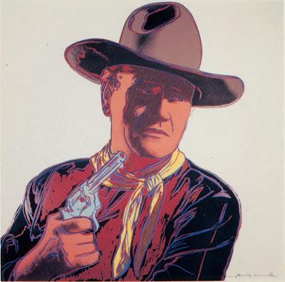 cowboys and indians john wayne andy warhol