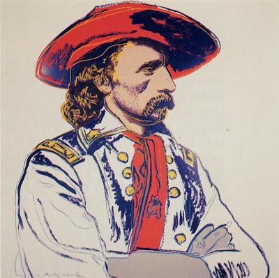 andy warhol general custer hires
