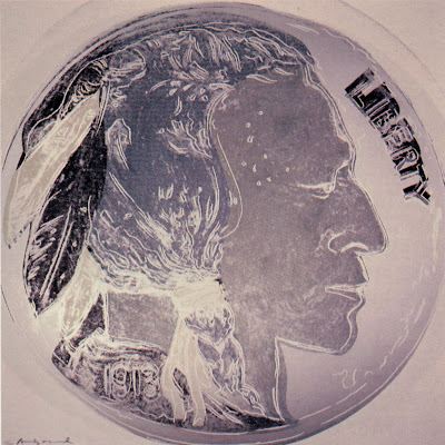 indian head nickel andy warhol