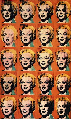 twenty five 25 colored marilyns