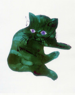 untitled cat warhol