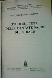 O texto das Cantatas
