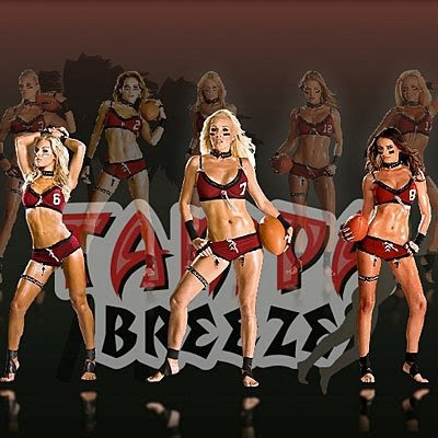 2009 LFL Lingerie Football Team Tampa Breeze-Promo