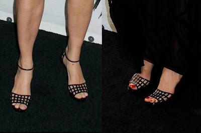Mismos Zapatos Claudia Schiffer y Mia mujer de Patrick Demarchelier