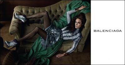 Balenciaga Fall 09, Steven Meisel
