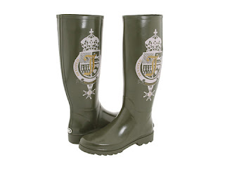 Juicy Couture Wellington boots en www.elblogdepatricia.com