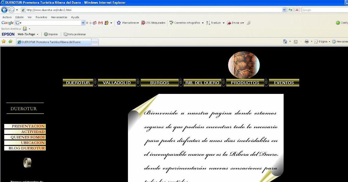 La oficina de turismo virtual de la ribera del duero tras for Linea duero oficina virtual