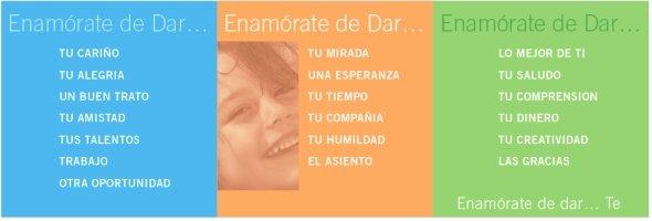 ENAMÓRATE DE DAR