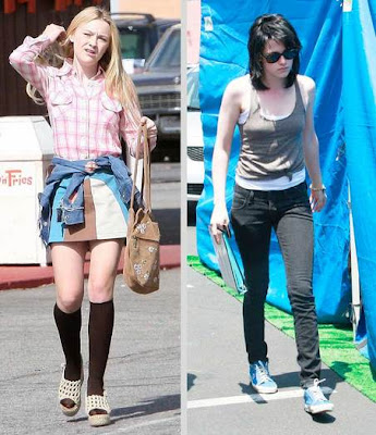 Multiple inside sources claim that Kristen Stewart and Dakota Fanning will