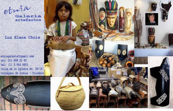 ETNIA Galería Artefactos. Luz Elena Chois Narváez