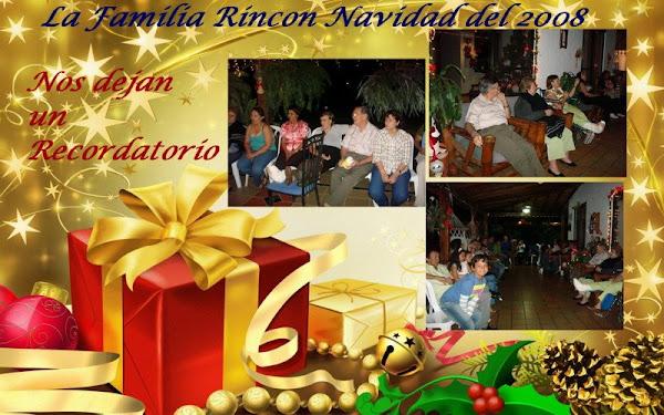 Navidades de los Rincón Narváez en Santiago de Cali Valle Diciembre 24 del 2008
