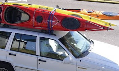 Juicy kayaks on the Jeep!