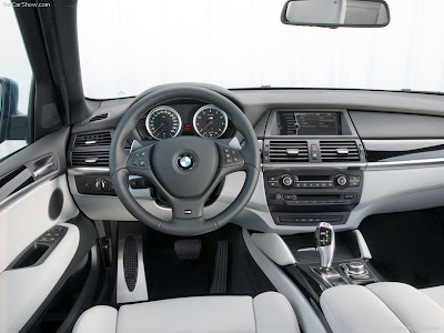 Bmw X5 Interior. New Reveal : 2010 BMW X5 M adn