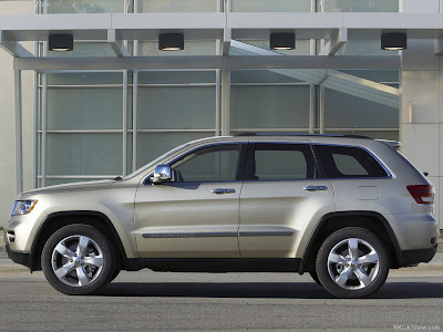 It's the 2011 all-new generation Jeep Grand Cherokee.
