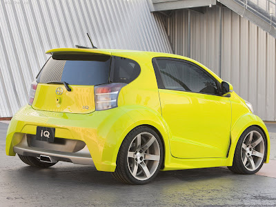 Motor Gears New Reveal At Ny 2009 Scion Iq Concept
