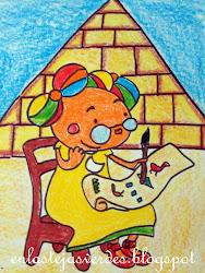 """"""" El secreto de la pirámide """" Un viaje a egipto"""