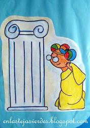 """""""Aris en las Olimpiadas"""" en la antigua grecia"""