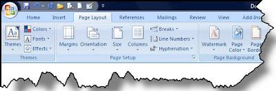 Membuat orientasi halaman berbeda di satu dokumen