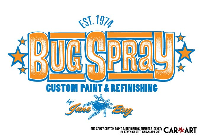 BugSpray custom finishes