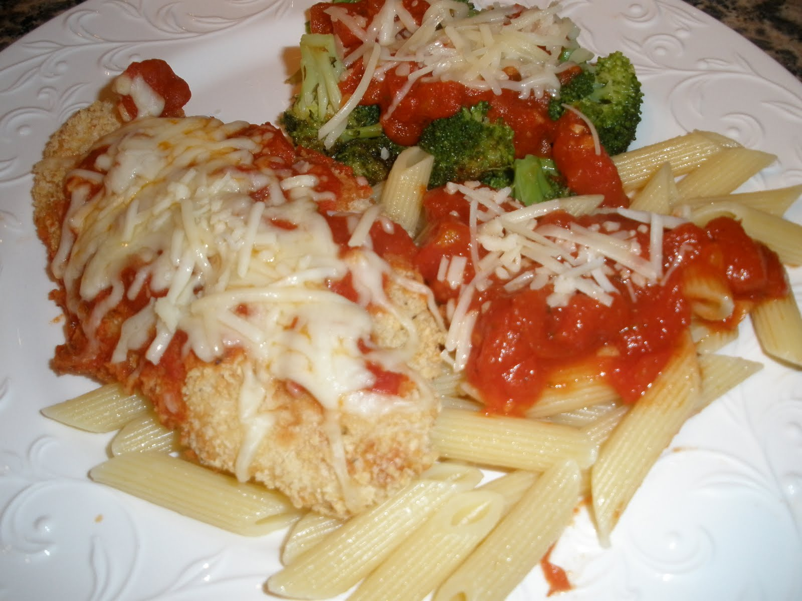 Chicken Parmigiana Recipe — Dishmaps