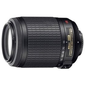 Nikon 55-200mm f/4-5.6G ED IF AF-S DX VR [Vibration Reduction] Zoom Nikkor Lens