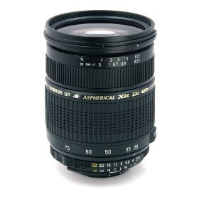 Tamron AF 28-75mm f/2.8 SP XR ZL Di LD Aspherical (IF) for Canon Digital SLR Cameras