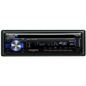 Kenwood KDC-MP342U WMA/MP3 CD Receiver with Satellite/HD Radio/Bluetooth Ready Front Panel USB/AUX Input