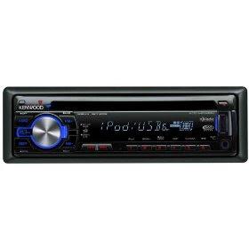 Kenwood KDC-MP342U WMA/MP3 CD Receiver with Satellite/HD Radio/Bluetooth Ready Front Panel USB/AUX Input