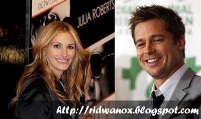 Julia Roberts dan Brad Pitt