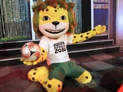 Zakumi Maskot Piala Dunia 2010