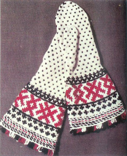 Easy Knit Baby Booties Free Pattern : Need More Fiber: Finnish colourwork knitting patterns