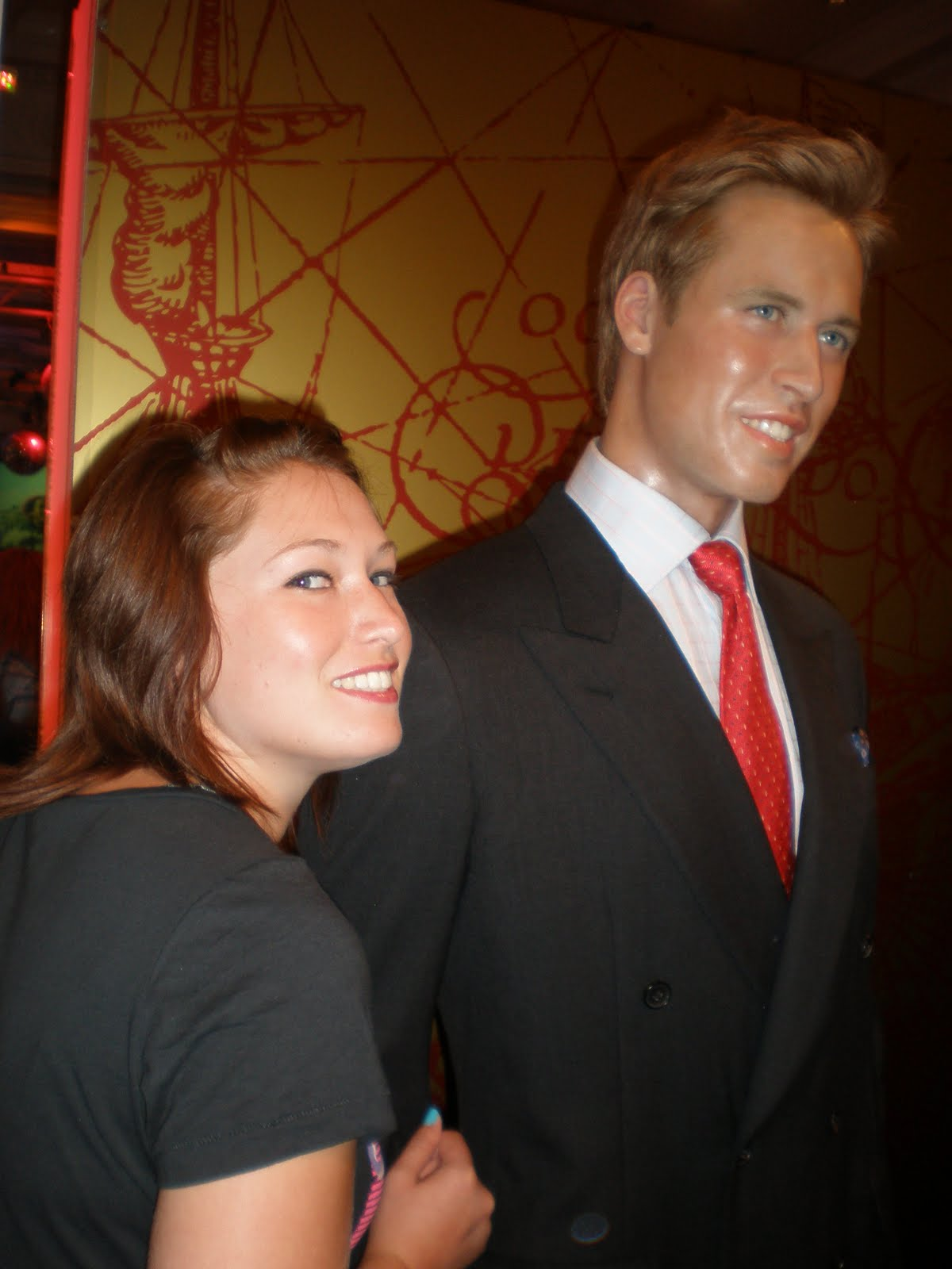 prince william horrible job prince williams wax figure melted prince william wax
