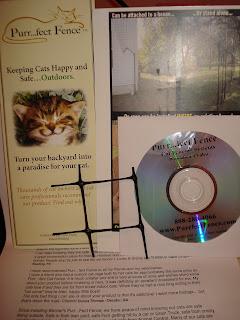 Amostra Gratis- Purr-fect Fence (Gatos)