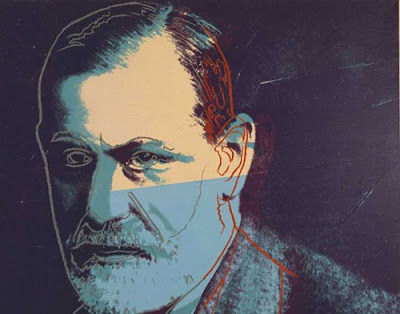 Andy Warhol - Sigmund Freud painting, rare artwork