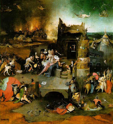 Hieronymus Bosch The Temptation of St Anthony