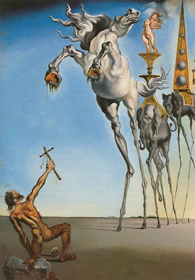 Salvador Dali Saint Anthony