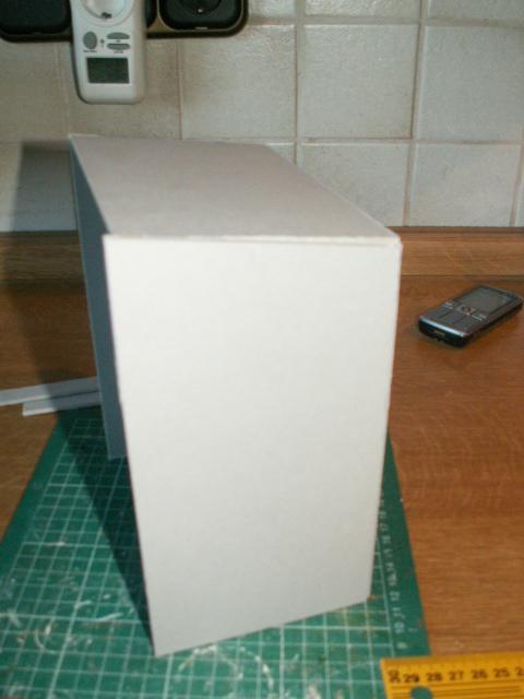 rapunzel minis anleitung f r eine einfache marktbude aus pappe. Black Bedroom Furniture Sets. Home Design Ideas