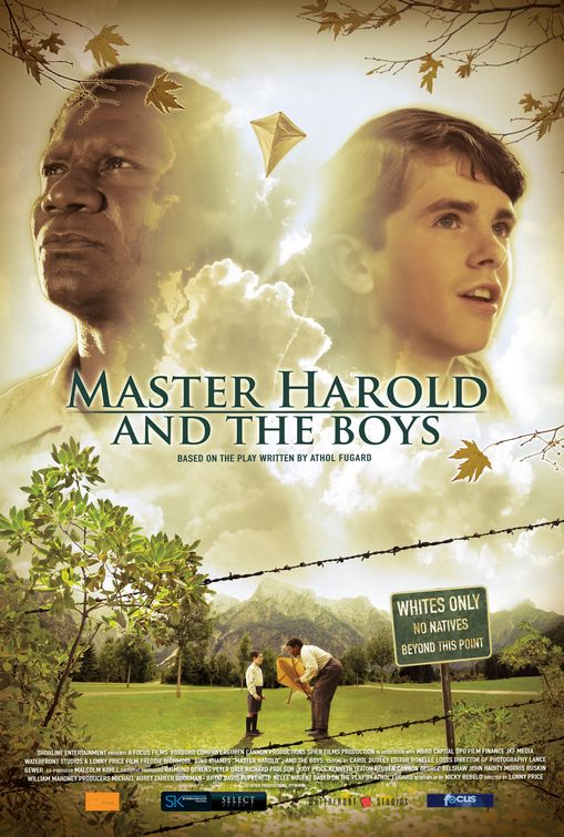 master harold the boys Free essay: most people cannot see reality as it truly is from their eyes in athol fugard's master harold and the boys, he shows the apartheid between.
