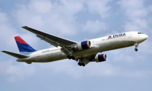 A Delta Air Lines 767, similar to Delta Flight 1989